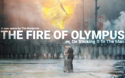 Recording the opera 'The Fire of Olympus' by Tim Benjamin