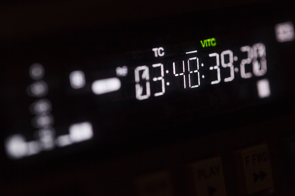 Timecode: A brief history by Martin Pedder