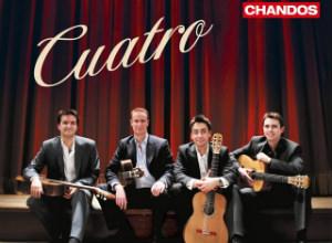 Aquarelle Guitar Quartet | 'Cuatro' | Recording