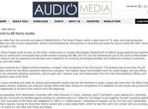 Audio Media Article on 80 HERTZ