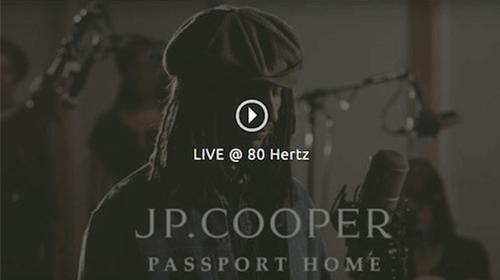 JP Cooper - Passport Home