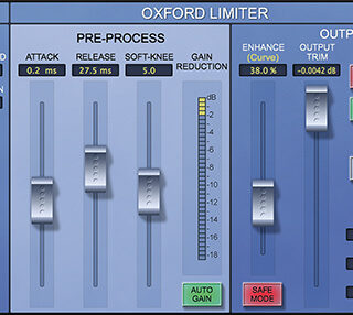 Sonnox Oxford Limiter V2 AAX DSP