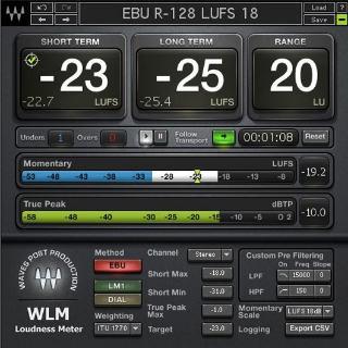 WavesLoudness Meter