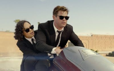 Recording ADR for 'Men In Black – International'